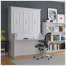 Allegra Full Wall Bed with Desk - £1,578.37 GBP