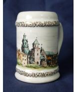 Krakow Poland Souvenir Miniature Stein or Beer Mug  - $9.00