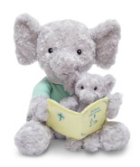 "Hanna & Child NEW 12"" Elephant Bible Time Animated Plush Recites 8 Bible... - $26.24"