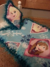 18 Inch Doll Frozen Blanket and Pillow - $5.89