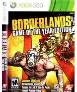 XBOX 360 - Borderlands (Game Of The Year Edition) - $9.90