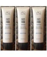 AG Hair Care Moisture Fast Food Leave in Conditioner 2 Oz.~ Lot Pack Of ... - $16.53
