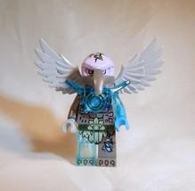 LEGO Legends of Chima Vornon Vulture Minifigure 70135 70225 Trans Blue G... - $7.70