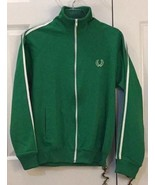 Vintage 90s Fred Perry Sportswear Green Track Jacket [SMALL] - $74.80