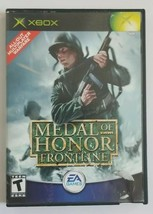 Medal of Honor Frontline Xbox Game 2002 EA Games No Manual - $4.49