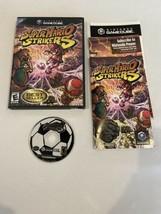 Nintendo GameCube 2005 Super Mario Strikers Complete  - $64.97