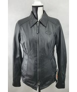 Harley Davidson Womens Jacket Destination Leather Biker Motorcycle Jacke... - $254.83