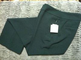 KASPER WOMENS NEW GREEN 97%POLYESTER 3%ELASTANE DRESS PANTS SIZE:8/32 - $64.52