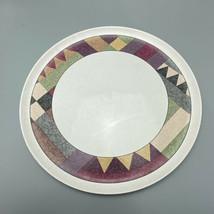 Studio Nova Mikasa Palm Desert 11 Inch Chop Plate Bohemian Mid Century S... - $14.84