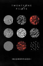 Twenty One Pilots Poster TOP Promo BlurryFace 11 x 17 inches Ships SameD... - $8.97