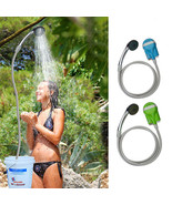 IPRee® Portable USB Shower Water Pump Rechargeable Nozzle Handheld Camp ... - $39.99