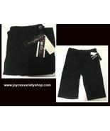 Amy Buyer Stretch Black Capri Youth Sz 12 - $11.99
