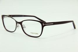 New Tom Ford Tf 5282 083 Violet Eyeglasses Authentic Rx TF5282 52-16 W/CASE - $128.82