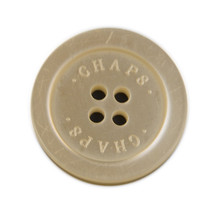 """Chaps Ralph Lauren White Pocket or Sleeve Replacement  button .60"""" - $3.91"""