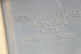 06-08 Honda Pilot Front Lower Bumper Plastic Brush Guard image 8