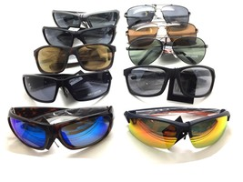 Harley Davidson Sunglasses wholesale lot metal plastic sports shield Avi... - $349.97