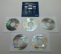 Microsoft Works Suite 2006 Word Digital Image Streets Money Encarta Pre ... - $29.69