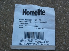Homelite Hedge Trimmer Cylinder Gasket #08159 Fits HT17, HT19, HT21, HT22, HX16 - $6.88