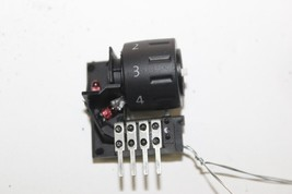 2004-2007 VOLKSWAGEN TOUAREG FRONT HEATED SEAT SWITCH DIAL J1993 - $34.29