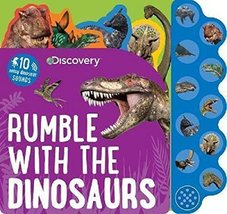 Discovery Kids Dinosaurs Rumble Sound Book (Discovery 10 Button) [Board ... - $6.26