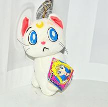 Artemis plush doll stuffed toy Sailor Moon Japanese Banpresto Japan whit... - $39.59