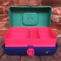 Vintage Caboodles Make Up Carrying Case #2602 Sliding Trays Cosmetics Storage - $45.00