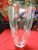 "Magnificent LENOX Crystal Glass VASE...11"" height........SALE - $29.70"