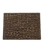 Fennco Styles Natural Woven Water Hyacinth Rectangular Placemats - Set o... - $65.33