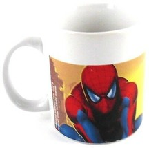 Marvel Comic Book Heroes THE AMAZING SPIDERMAN Coffee Cup Mug 2006 Sherwood - $14.99