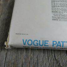 Vintage Vogue Bedspread Linen Sewing Pattern Bedroom Sham Pillow Bed Covers image 10