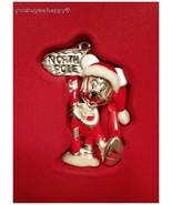 Lenox Christmas Disney Showcase Ornament Mickey's Visit To Santa New in Box - $59.40