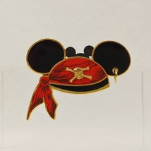 Mickey Mouse Ear Hat - Pirates of the Caribbean Disney Pin 47059 - $12.86