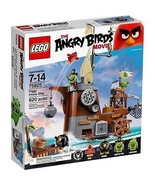 LEGO Angry Birds 75825 Piggy Pirate Ship Building Kit (620 Piece), NEW - $42.00