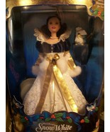 Disney's SNOW WHITE and the SEVEN DWARFS 1998 BARBIE DOLL NRFB   BEAUTY!! - $19.80