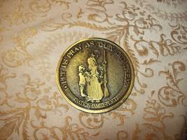 """6#W     Pennsylvania Bicentennial 1776-1976 Brass Medal Token about 3"""" D... - $19.79"""