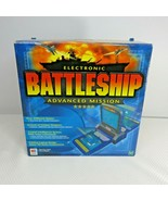 Electronic Battleship Advanced Mission Milton Bradley 2000 Complete Clas... - $69.25