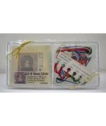 Kreinik Let it Snow Globe Silk Gauze Kit - Silk Mori Thread - Framed or ... - $18.95