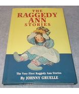 The Raggedy Ann Stories HC DJ 1994 Color Reprint Signed Kim Gruelle Nice - $12.95