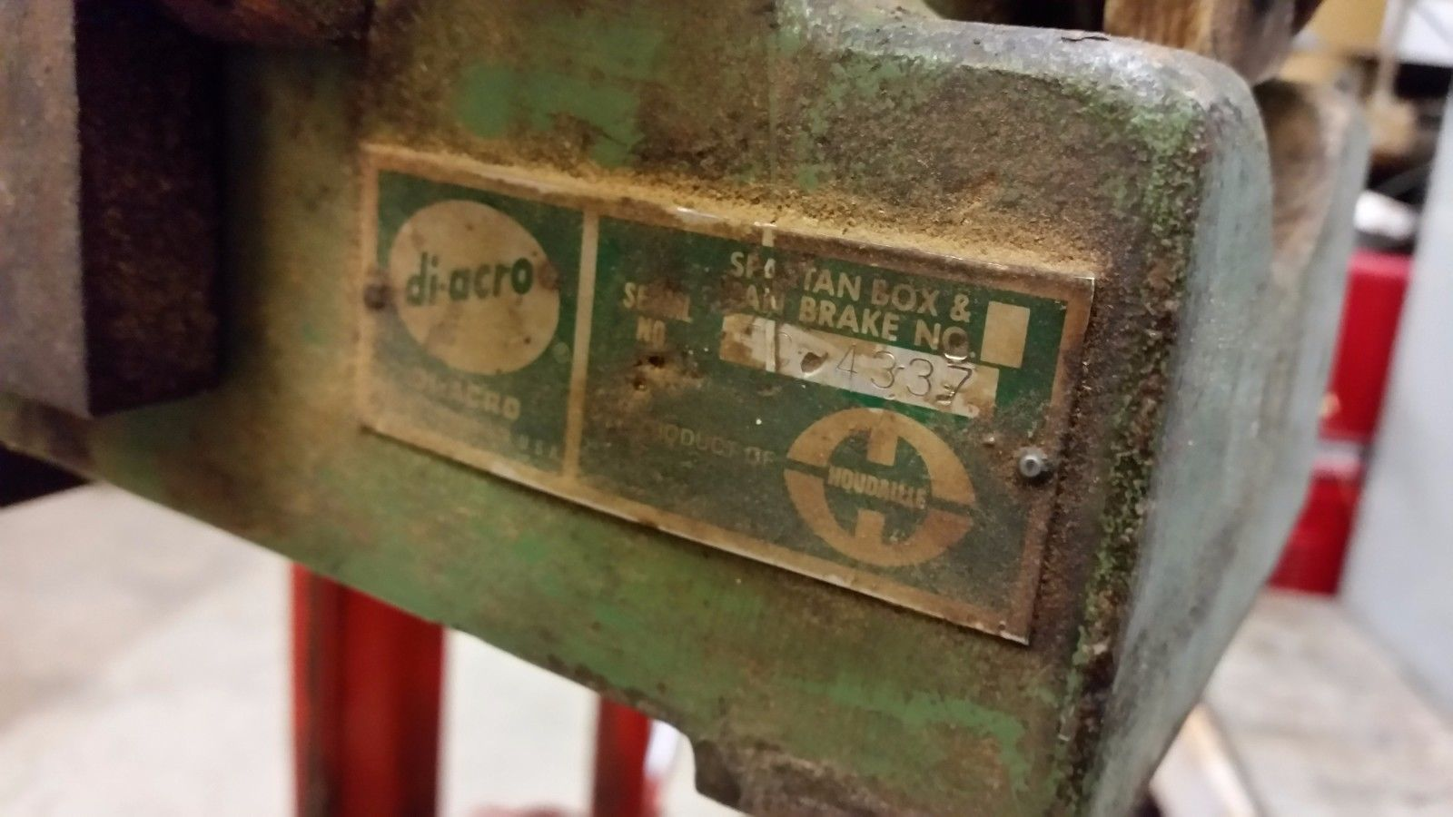 """DI ACRO 24"""" 16 GAUGE BOX AND PAN FINGER BRAKE DIACRO"""