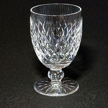 1 (One) WATERFORD BOYNE Cut Lead Crystal Water Glass DISCONTINUED - Signed - $42.74