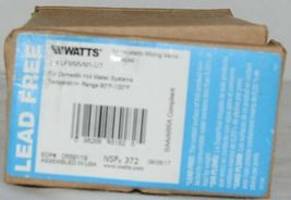 Watts Thermostatic Mixing Valve Threaded 3/4 Inch LFMMVM1 UT image 3