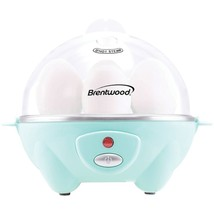 Brentwood Appliances TS-1045BL Electric Egg Cooker with Auto Shutoff (Blue) - £24.70 GBP