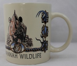 Mug/Cup Coffee/Tea Sense of Order Savannah Wildlife RHINO - $18.95