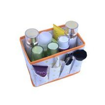 Foldable Basket Liquid Skin Care Make Up Cosmetic Storage Bedroom Desk O... - $9.23 CAD