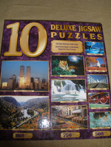10 Deluxe Jigsaw Puzzles 6750 Total Pieces WORLD TRADE CENTER New Unopened - $21.49