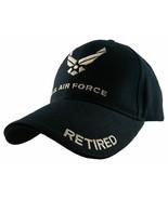 NEW USAF U.S. Air Force Retired Baseball cap hat Navy Blue 5343 - $15.95