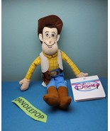 """Walt Disney Store And Parks Mini Bean Bag Woody Toy Story 9"""" - $11.87"""