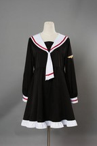 Cardcaptor Sakura Kinomoto Clear Card Arc Cosplay Costume Sailor Suit Dress Gown - $29.00