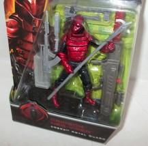 "✰ 2009 Gi Joe Rise of Cobra MOC 4"" Crimson Neo Viper Figure Hasbro - $19.99"