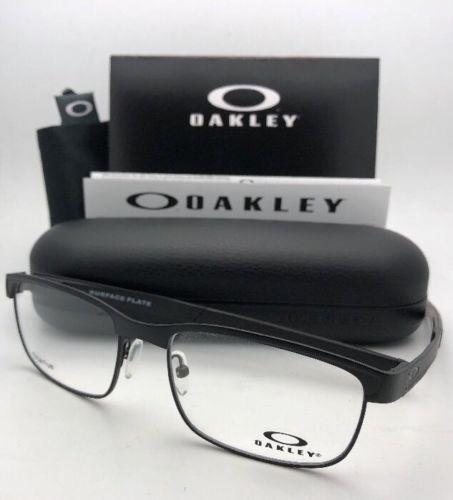 81ebbaf7544 12. 12. Previous. New OAKLEY Titanium Eyeglasses SURFACE PLATE OX5132-0154  54-18 Matte Black Frame